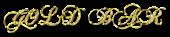Font Chopin Script Gold Bar Logo Preview