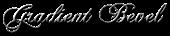 Font Chopin Script Gradient Bevel Logo Preview
