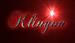 Font Chopin Script Klingon Logo Preview