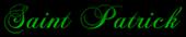 Font Chopin Script Saint Patrick Logo Preview