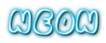 Font Chubb Neon Logo Preview