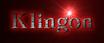 Font Classic Heavy Light Klingon Logo Preview