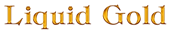 Font Classic Heavy Light Liquid Gold Logo Preview