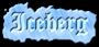 Font Cloister Black Iceberg Logo Preview