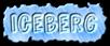 Font Comic Zine OT Iceberg Logo Preview