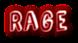 Font Comic Zine OT Rage Logo Preview