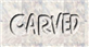 Font Comics Cartoon Carved Logo Preview