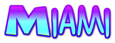 Miami Logo Style