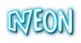 Font Comics Cartoon Neon Logo Preview