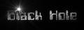 Font Computerfont Black Hole Logo Preview