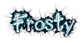 Font Cool Dots Frosty Logo Preview