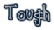 Font Cool Dots Tough Logo Preview