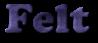 Font Cooper Felt Logo Preview