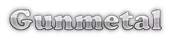Font Cooper Gunmetal Logo Preview