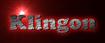 Font Cooper Klingon Logo Preview