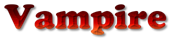 Font Cooper Vampire Logo Preview