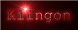 Font Courier Klingon Logo Preview