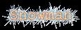 Font Courier Snowman Logo Preview