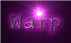 Font Courier Warp Logo Preview