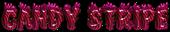 Candy Stripe Logo Style