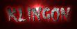 Font Cramps Klingon Logo Preview
