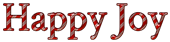 Font Crimson Happy Joy Logo Preview