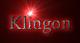 Font Crimson Klingon Logo Preview