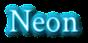 Font Crimson Neon Logo Preview