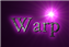 Font Crimson Warp Logo Preview