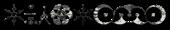 Font CropBats Grunge Logo Preview