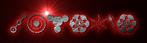 Font CropBats Klingon Logo Preview