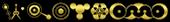 Font CropBats Outline Logo Preview