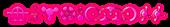 Font CropBats Princess Logo Preview