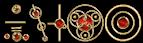Font CropBats Royal Logo Preview