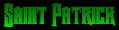 Font Crown Title Saint Patrick Logo Preview