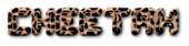 Font Dalila Cheetah Logo Preview