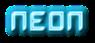Font Dalila Neon Logo Preview