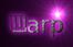Font Dancing Donuts Warp Logo Preview