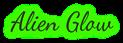 Font Dancing Script OT Alien Glow Logo Preview