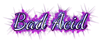 Font Dancing Script OT Bad Acid Logo Preview