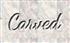 Font Dancing Script OT Carved Logo Preview