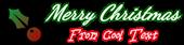 Font Dancing Script OT Christmas Symbol Logo Preview