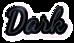 Font Dancing Script OT Dark Logo Preview