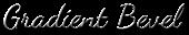 Font Dancing Script OT Gradient Bevel Logo Preview