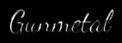 Font Dancing Script OT Gunmetal Logo Preview