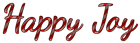 Font Dancing Script OT Happy Joy Logo Preview