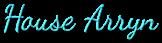Font Dancing Script OT House Arryn Logo Preview