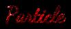 Font Dancing Script OT Particle Logo Preview