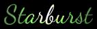 Font Dancing Script OT Starburst Logo Preview