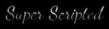 Font Dancing Script OT Super Scripted Logo Preview